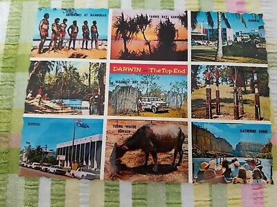 Collectible Postcard 1960s/70s/80s UNUSED Darwin and The Top End N.T.