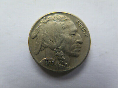 1937 S SAN FRANCISCO USA INDIAN HEAD NICKEL in VERY NICE COLLECTABLE CONDITION