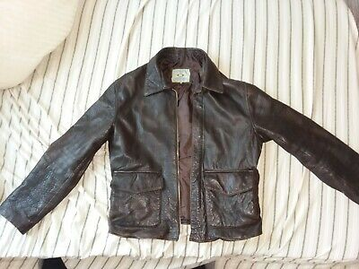 Todd Coyle Costumes Indiana Jones Raiders of The Lost Arc Leather Jacket Mens...