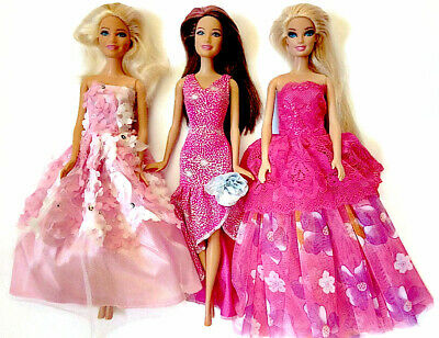 Brand new barbie doll clothes outfit clothing sets set of 3 outfit evening