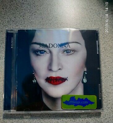New 2019 Madonna Madame X Mexican 1CD standard edition Made in Mexico