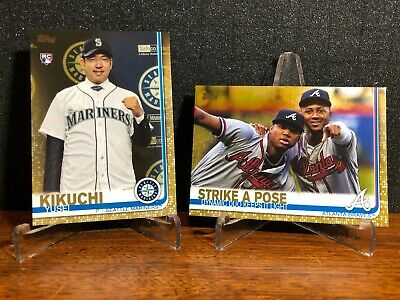 2019 Topps Series 2 GOLD You Pick 551-700 FINISH SET #'d/2019 BUY 2 GET 1 FREE