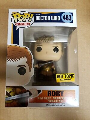Funko Pop Rory Dr who Hot Topic exclusive