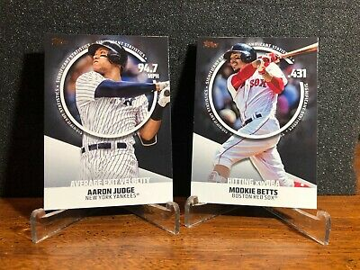 2019 Topps Series 2 SIGNIFICANT STATISTICS YOU PICK Finish Set BUY 2 GET 1 FREE
