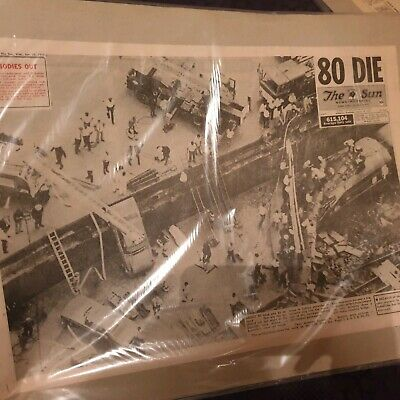 Granville Train Disaster - Newspaper Pages - January 19th 1977
