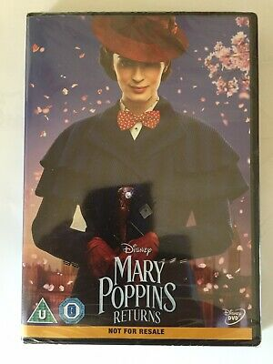 MARY POPPINS RETURNS DVD Starring Emily Blunt