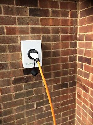 USED - Electric Car Charger EV PHEV Charge Point 7kw / 32amp, *NO WALL PLATE*