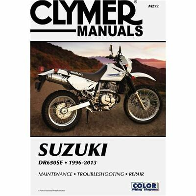 Clymer Dirt Bike Manual - Suzuki DR650SE 1996-2013 - SUZ DR 650SE 1996 - 2013