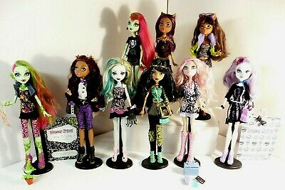 Monster High Dolls you pick one or many Catrine de mew Cleo Venus no 8