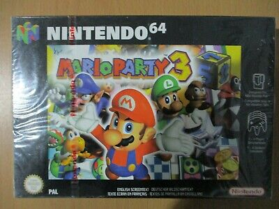 Nintendo 64 Brand new and factory sealed Mario Party 3