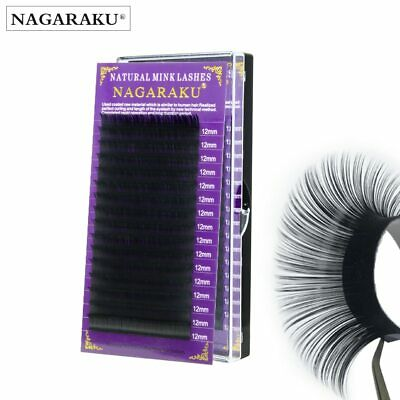 NAGARAKU high-quality faux mink eyelash extensions individual eyelashes false