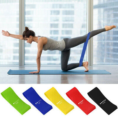 Resistance Bands Yoga Bands Loop GYM Fitness Power Strength 5-In-1 Set