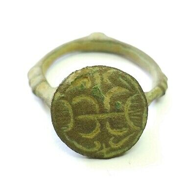 Аncient Artifact ANTIQUE Bronze Medieval Ring Kievan Rus Original Middle Ages