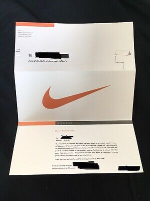 Nike $190 Product Voucher gift card