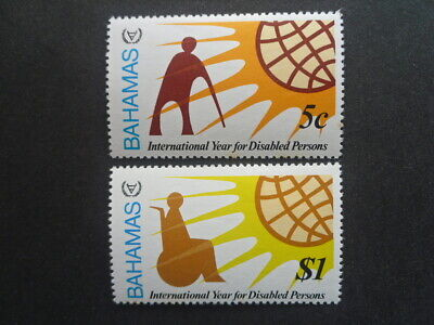 BAHAMAS 1981 Year for Disabled Persons SG.578/579 MNH