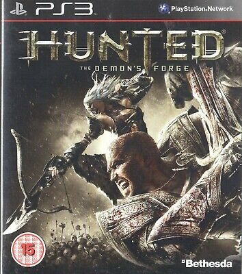 Hunted: The Demon's Forge Sony Playstation 3 PS3 15+ Action Game
