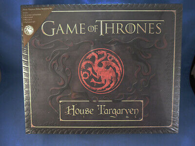 Unused Game of Thrones: House Targaryen Deluxe Stationery Set,New,Sealed