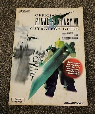 OFFICIAL FINAL FANTASY VII 7  STRATEGY GUIDE - BradyGames Guide Book