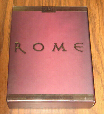 Rome: The Complete Series (DVD, 2009, 11-Disc Set) -- Like New