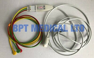 Philips ECG cable Patient Cable 3-lead Philips MRX Agilent XL Hearstream M1674A
