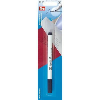 Prym Iron On Pattern Pen - Fibre Tip Purple - Iron-On Transfer Pattern On Fabric