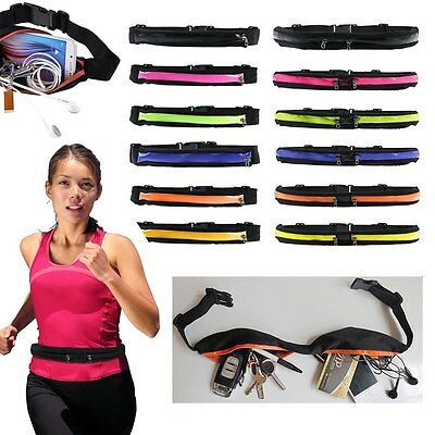 Unisex Waist Belt Wallet Bum Bag Running Pouch Key Mobile Money Sport Waterproof