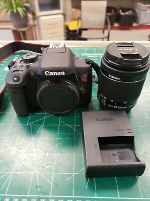 Canon EOS Rebel T6i Camera with 18-55mm Lens