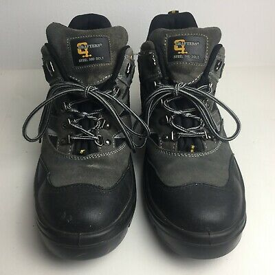Grafters Uk Size 11 Safety Steel Capped Work Boots 11 Uk Ppe