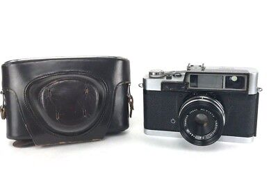 Vintage 1959 Yashica 35 YL Camera with Yashinon 4.5cm 1:2.8 Lens - With Case