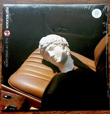 Bad Religion - Age Of Unreason LP [Vinyl New] Indie Ex Limited Clear/Black