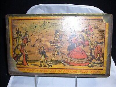 Vintage Tony Sarg Wooden Decoupage/Painted Box