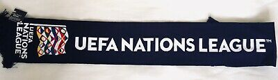 Uefa nations League 2019 official International Branded Football Scarf