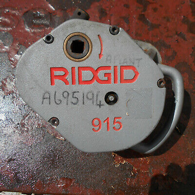 """Ridgid 915 Pipe Roll Groover Unit Used 2 - 6 """" Very Good Condition"""