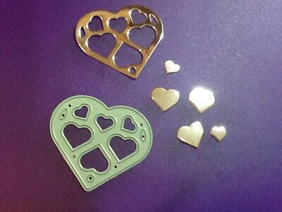 HEART Metal Cutting Die For Scrapbooking DIY Card Embossing Craft Stencil