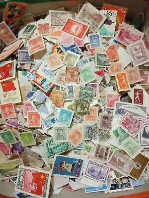 Stamps 200+ UNCHECKED worldwide off paper.