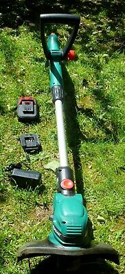 Qualcast N0F-GT-250/18-E Cordless Telescopic Strimmer Trimmer 18V - See Photos