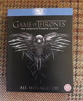 Game Of Thrones Complete Fourth Season Blu Ray