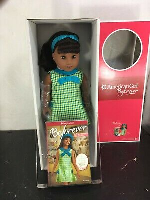 "AMERICAN GIRL 18"" MELODY ELLISON DOLL NIB with Book  (NO X  on the BOTTOM}"