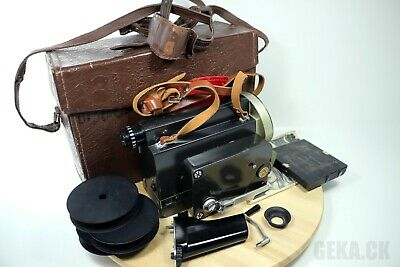 Soviet RUSSIAN KIEV-16U Soviet 16mm Film Movie Camera USSR Worldwide