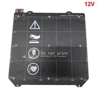 3D Printer Parts Power Module Plate Magnetic Wiring Heated Bed Double Sided MK52
