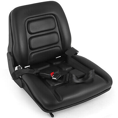 Forklift Suspension Seat with Auto Seat Lock&Seat Tractor Heavy Duty PVC