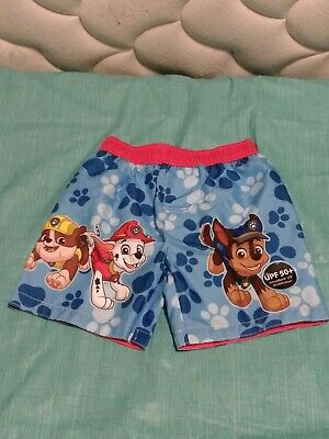 0fc023966b NICKELODEON PAW PATROL Swim Trunks - Boys 4T - New with Tags - FREE ...
