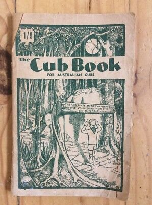THE CUB BOOK FOR AUSTRALIAN CUBS Vintage 1957