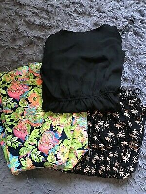 Bulk Lot Bundle Womens Playsuit Size M / 12