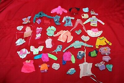 Vintage and Contemporary Barbie Skipper Stacie Lot #2 of Clothing