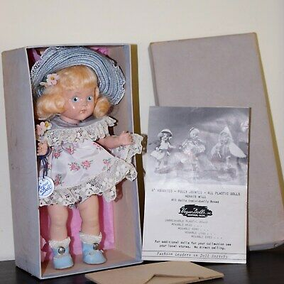 VOGUE STRUNG GINNY 1950 Ptd Eye HP LIBBY w/Box, Wrist Tag, CRISP, nr. Mint L@@K