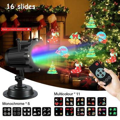 Led Projector Light,Sgodde 16 Slides Projection Light With Remote Control,Outdoo