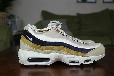 new arrival 7b69d 39fe6 NIKE AIR MAX 95 Premium Shoes Desert Brown Tan Suede 538416-205 Mens Multi  Size