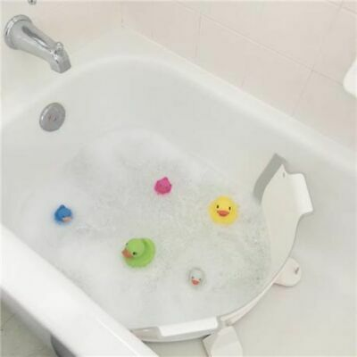 Baby Dam Bath Barrier Grey