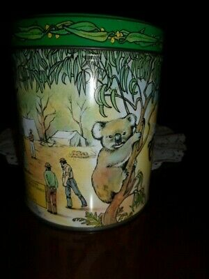 Vintage Molly Bushell  Colonial Toffees  Tin    Made In Australia